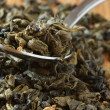 Stock Photo: Aromatized green tea