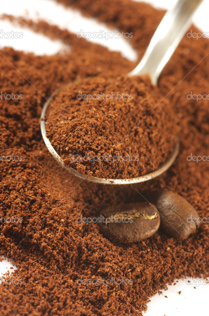 ground coffee stock photo - photo #9