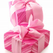 Stock Photo: Pink gifts