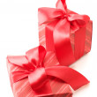 Red gifts — Stockfoto