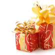 Multicolored gifts - Stock Photo