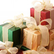 Multicolored gifts — Stock Photo #2878146