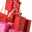 Stack of gifts - Stock Photo