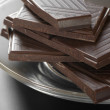 Stock Photo: Dark chocolate