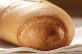 Baguette close-up — Stock Photo