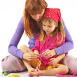 Playing mother and daughter — Stock Photo #2939077