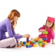 Playing mother and daughter — Stock Photo #2939091