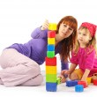 Playing mother and daughter — Stock Photo #2939102