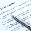 Royalty-Free Stock Photo: Employment agreement