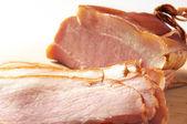 Sliced ham — Stock Photo