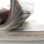 časopisy — Stock fotografie