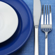 Plates, fork and knife — Stock Photo #2950554