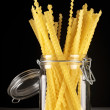 Pasta in jar — Stock Photo