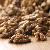 Heap of walnuts — Stock Photo