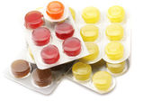 Colorful lozenges — Stock Photo