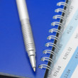 Pen and notepad — Stock Photo #2986026