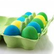 Colorful Easter eggs - Stockfoto