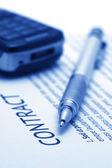 Employment agreement — Stock Photo
