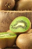 Heap of kiwi — Stock Photo