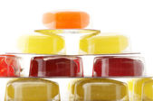 Colorful lozenges close-up — Stock Photo