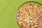 Muesli in bowl — Stock Photo