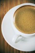 Vintage cup of coffee — Stock Photo