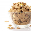 Breakfast cereal in bowl — Stock Photo