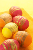 Kleurrijke paaseieren — Stockfoto