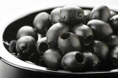 Black olives — Foto de Stock
