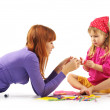 Playing mother and daughter — Stock Photo #3187227