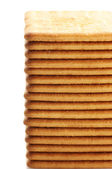 Stapel van crackers — Stockfoto