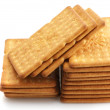 Stack of crackers - Stok fotoraf