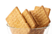 Crackers in bowl — Foto de Stock