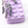 Soap and lavander - Stock Photo