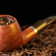 Pipe and tobacco - Stockfoto