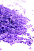 Bath salt close-up — Stock Photo