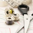 Stock Photo: Sewing accessories