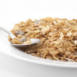 Muesli in plate — Foto Stock