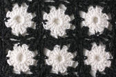Crocheted background — Stock Photo