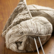 Stock Photo: Linen yarn