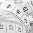 Tape measure close-up — Stock Photo