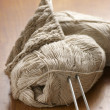 Linen yarn - Stock Photo