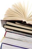 стек книг — Стоковое фото