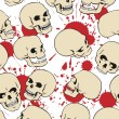 Royalty-Free Stock Vectorielle: Skulls