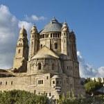 Model Of The Dormition Abbey, Jerusalem — Stock Photo #2697692