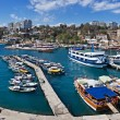 Marina In Antalya, Turkey - Stock Photo