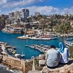 Постер, плакат: Looking At Marina In Antalya Marina