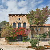 Yemin moshe district, jerusalem — Stockfoto