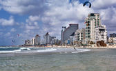 Tel-Aviv Beach — Stock Photo
