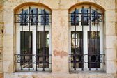 Jerusalem windows — Stock Photo